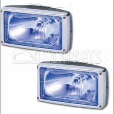 BLUE SPOT LAMPS FLUSH MOUNTING (PAIR)