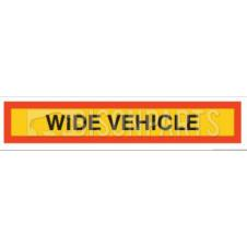 MARKER BOARD TYPE 4 WIDE VEHICLE VINYL SELF ADHESIVE (SINGLE)