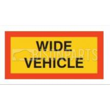 MARKER BOARD TYPE 5 WIDE VEHICLE PAIR VINYL SELF ADHESIVE (PAIRS)