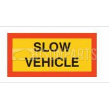 MARKER BOARD TYPE 5 SLOW VEHICLE VINYL SELF ADHESIVE (PAIR)