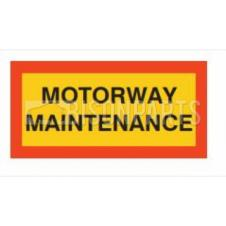 MARKER BOARD TYPE 5 MOTORWAY MAINTENANCE SELF ADHESIVE (PAIR)