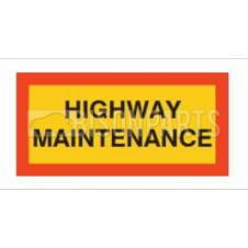 MARKER BOARD TYPE 5 HIGHWAY MAINTENANCE SELF ADHESIVE (PAIR)