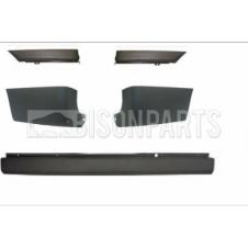FORD TRANSIT MK6 & MK7 2000 - 2013 (SHORT, MEDIUM, LONG WHEEL BASE MODELS) COMPLETE REAR BUMPER