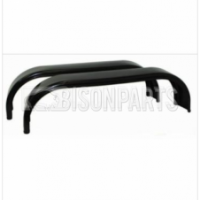 UNIVERSAL HEAVY DUTY TANDEM MUDGUARDS / MUDWINGS TO SUIT TWIN WHEELS JT650N (PAIR)