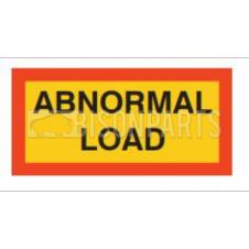 MARKER BOARD TYPE 5 ABNORMAL LOAD VINYL SELF ADHESIVE (PAIR)