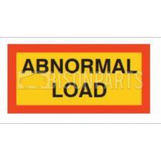 MARKER BOARD TYPE 5 ABNORMAL LOAD VINYL SELF ADHESIVE (PAIR)