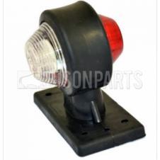 UNIVERSAL 24V LED RED / WHITE END OUTLINE MARKER LAMP