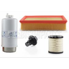 FORD TRANSIT 2006-2012 2.4 TDCI ENGINE RWD FILTER SERVICE KIT (AIR, OIL, FUEL FILTERS & OIL SUMP PLUG)