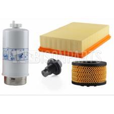FORD TRANSIT MK6 2000-2006 RWD 2.4 TDCI ENGINE ENGINE FILTER SERVICE KIT (AIR, OIL, FUEL FILTERS & OIL SUMP PLUG)