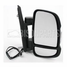 CITROEN, FIAT & PEUGEOT 2006 ONWARDS SHORT ARM MIRROR HEAD DRIVER SIDE RH