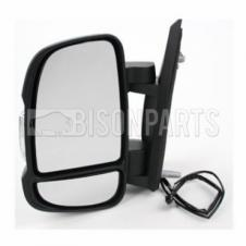 CITROEN, FIAT & PEUGEOT 2006 ONWARDS SHORT ARM MIRROR HEAD PASSENGER SIDE LH