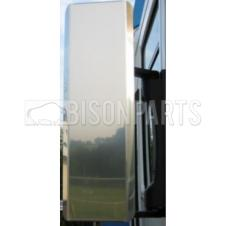 STAINLESS STEEL MIRROR GUARD SET RH & LH (PAIR)