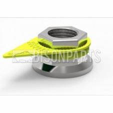 32MM WHEEL NUT INDICATOR YELLOW (EACH)