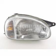 VAUXHALL COMBO (93-01) CORSA (93-00) FRONT HEADLIGHT RIGHT HAND
