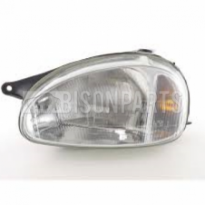 VAUXHALL COMBO (93-01) CORSA (93-00) FRONT HEADLIGHT LEFT HAND