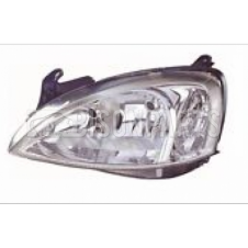 VAUXHALL COMBO (2002-2006) CORSA (2003-2007) HEADLIGHT LEFT HAND