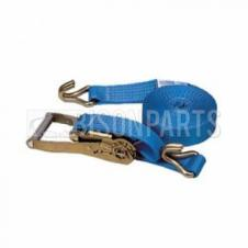 UNIVERSAL HEAVY DUTY RATCHET STRAP 2 FITTING BLUE 10 METRES