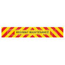 MARKER BOARD HIGHWAY MAINTENANCE SELF ADHESIVE (SINGLE)