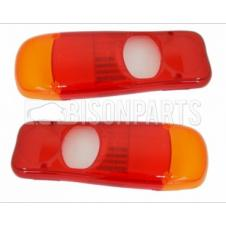 MITSUBISHI CANTER FUSO REAR LAMP LENS FITS RH OR LH (PAIR)