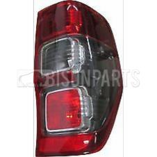 FORD RANGER P375 PICKUP (2011 ON) REAR TAIL LAMP RH - DARK RED WITH SMOKED INDICATOR