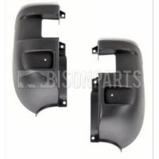 IVECO DAILY REAR BLACK BUMPER CORNERS RH & LH (PAIR)