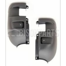 IVECO DAILY REAR GREY BUMPER CORNERS RH & LH (PAIR)