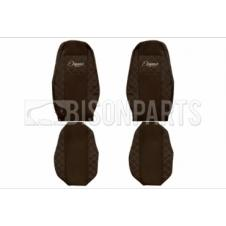 BROWN ELEGANCE SEAT COVERS (PAIR)