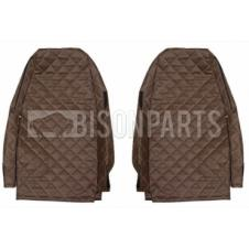 VOLVO FH VERSION 4 EURO 6 (2013 on) Seat Covers Elegance (BROWN / CHAMPAGNE)