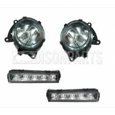 MERCEDES ACTROS MP4 LED DAYTIME RUNNING FOG LAMPS & FOG LAMPS RH & LH (PAIR)