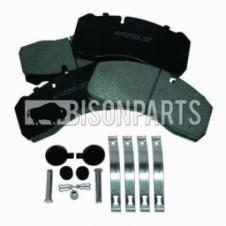 BPW TRAILER BRAKE PAD SET WITH FITTING KIT