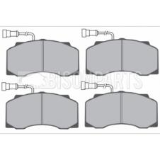 DAF 55 1995-2000 FRONT BRAKE PAD SET