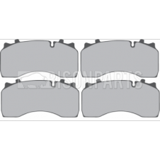 DAF LF55 12-18 TONNE 2001-2013 BRAKE PAD SET