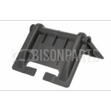 UNIVERSAL PLASTIC BELT PROTECTOR STRAP GUARD FOR PALLETS (Pack of 12) BLACK