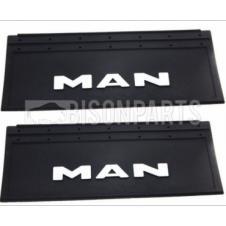 MUD FLAP REAR 650X350MM (MAN) X2