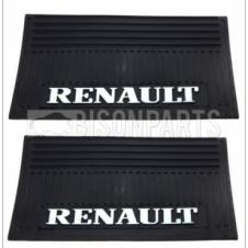 MUD FLAP REAR 650X350MM (RENAULT) X2