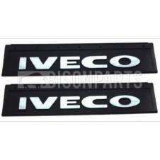 MUD FLAP REAR 600X200MM (IVECO) X2