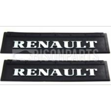 MUD FLAP REAR 600X200MM (RENAULT) X2