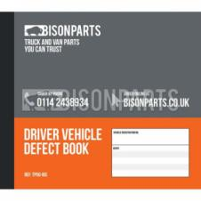 50 PAGE DUPLICATE VEHICLE DAILY CHECK & DEFECT BOOK (PKT 10)