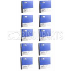 50 PAGE IRISH VAN & LGV DAILY DEFECT DUPLICATE BOOK (PKT 10)