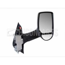 Ford Transit Ford Transit MK6 MK7 (2000-2014) Door Mirror Heated and Electric Long Arm Twin Glass Type & Black Cover Driver Side (O/S)
