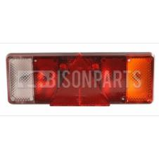 UNIVERSAL TAIL LAMP RH WITH REFLECTIVE TRIANGLE (LED 24V)