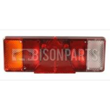 UNIVERSAL TAIL LAMP LH WITH REFLECTIVE TRIANGLE (LED 24V)