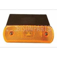 RUBBOLITE THQ-03-00 AMBER MARKER LAMP WITH BRACKET 24V