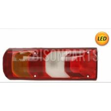MERCEDES ACTROS MP4 REAR LED COMBINATION LAMP WITH NUMBER PLATE LAMP LH