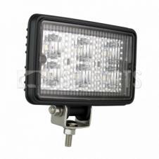UNIVERSAL LED AUTOLAMPS RECTANGULAR FLOOD LAMP 6X1W (12/24V)