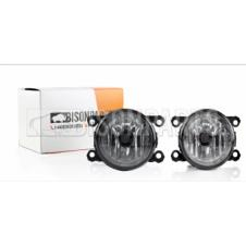 FRONT FOG LAMP COMPLETE WITH BULB AND HOLDER FITS LH RH (PAIR)
