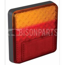 UNIVERSAL REAR STOP, TAIL & INDICATOR LED COMBINATION LAMP 12/24 VOLT