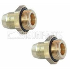 6MM STRAIGHT ADAPTOR M12x1.5 (PAIR)