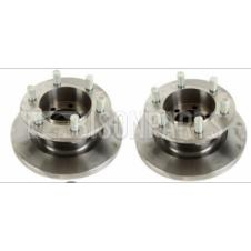FRONT BRAKE DISCS FITS RH OR LH (PAIR)
