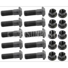 FRONT SQUARE HEAD WHEEL STUD & NUT 7/8
